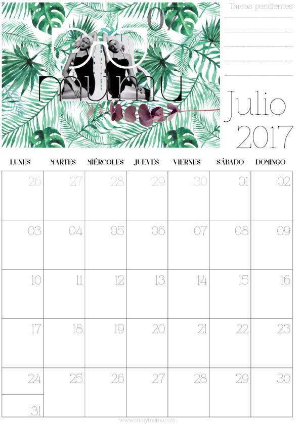 calendario Junio mumu